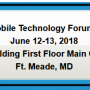 Visit us at the NSA Mobile Technology Forum (MTF)